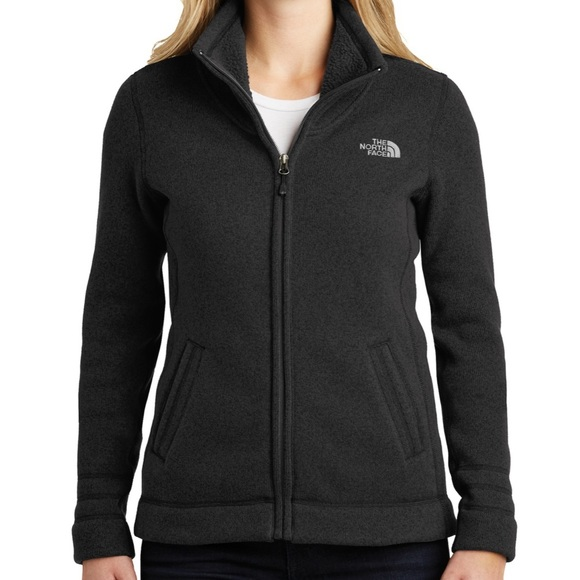 The North Face Jackets & Blazers - The North Face Sweater Fleece Jacket Black Hthr S